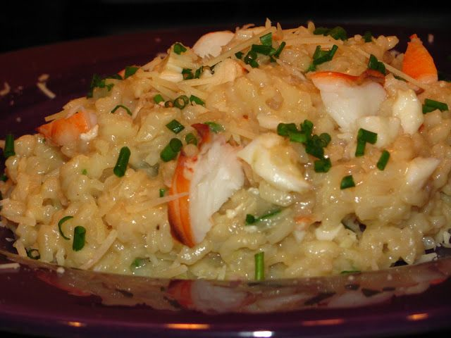 Creamy Lobster Risotto.  I'll definitely be making this!
