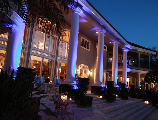 Iselworth Wedding, Private Residence Wedding, Orlando Wedding Planner, Stephanie Fleisher, Kaleidoscope, uplighting