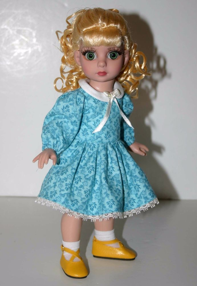 """Blue Sunday Best Dress for 10"""" Patsy Tonner #DesignsbyJude"""