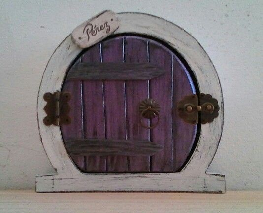 Puerta Raton Perez Violeta