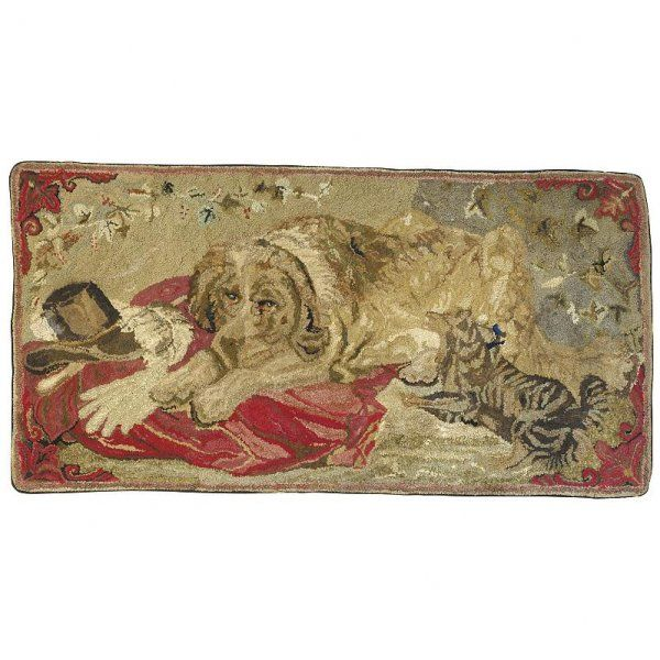 dog awesome dogs vintage rugs penny rugs rug ideas rag rugs rug