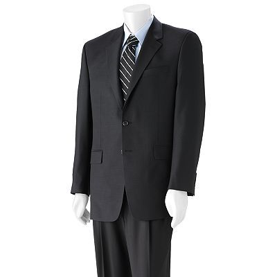 Chaps Solid Suit Separates - Big and Tall