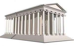 Ναός της Αφροδίτης, ο Παρθενώνας της Θεσσαλονίκης