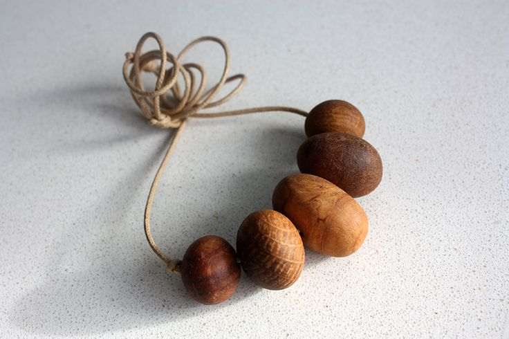 Australian beads made from 100% recycled Australian wood. Eco friendly. Vegan friendly. Child friendly.  https://www.etsy.com/au/listing/195328962/eco-friendly-australian-wood-necklace?ref=shop_home_active_1