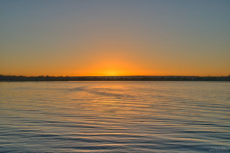 #sunrise over #Canning River @ #Manning Foreshore #Perth #thisisWA