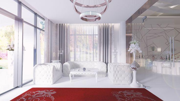 Salon de evenimente in stil glamour   Aurelia Filip – Design Savvy