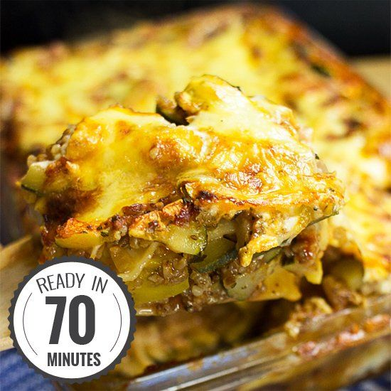 Vegetarian Zucchini Lasagna Having a good lasagna recipe under your belt means youre really getting somewhere in the culinary world. And this the Best Lasagna Ever. Go on shine.