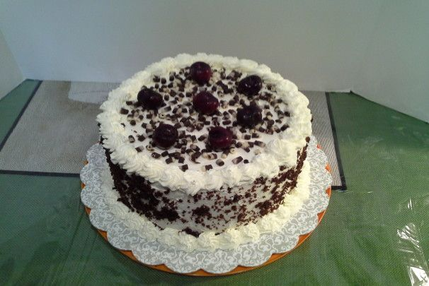 Authentic Black Forest Cake