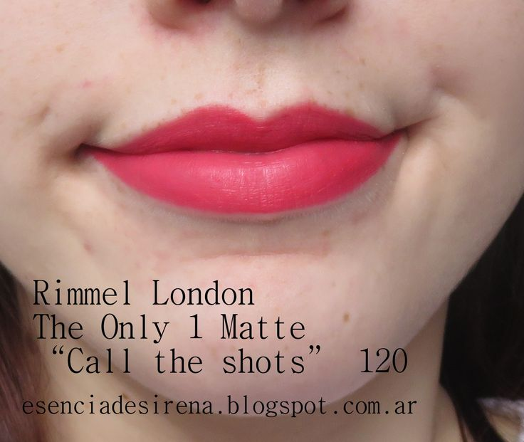 Rimmel London The only 1 Matte Call the Shots