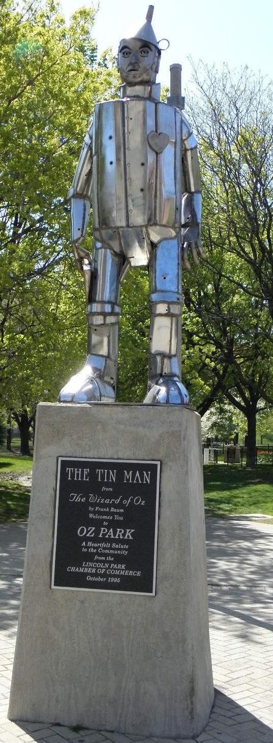 Tin Man in Oz Park