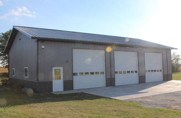 Monee, IL, Hobby Shop, Garage, Lester Buildings