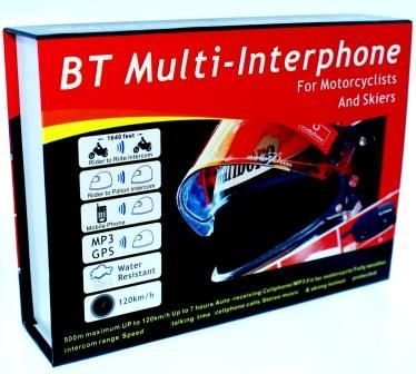 INTERKOM INTERCOM BLUETOOTH NOWY MODEL 2014 VAT 23