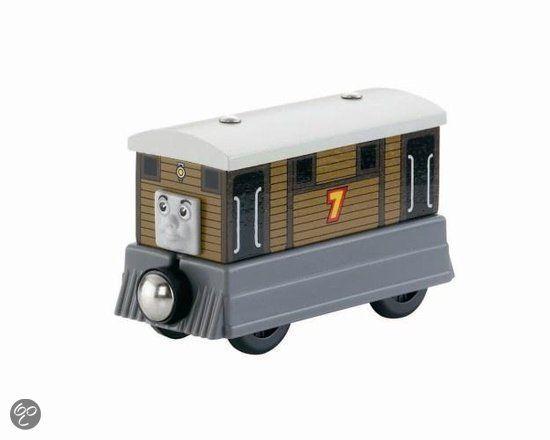 bol.com   Fisher-Price Thomas de Trein Hout Toby,Mattel   Speelgoed