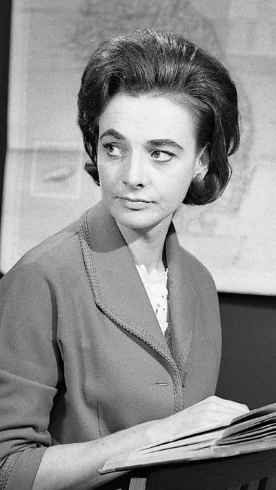 ❦ Fifty years ago today, on 20 September 1963, the first photographs of Doctor Who were taken… Jacqueline Hill played history teacher Barbara Wright.