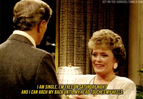 "| 23 Signs You Might Be Blanche Devereaux From ""The Golden Girls""  Damn straight, this is me in 40 years."
