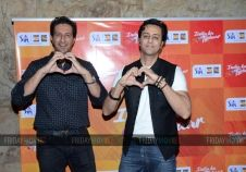 Salim Merchant and Sulaiman Merchant at the music launch of IPL Season 8
