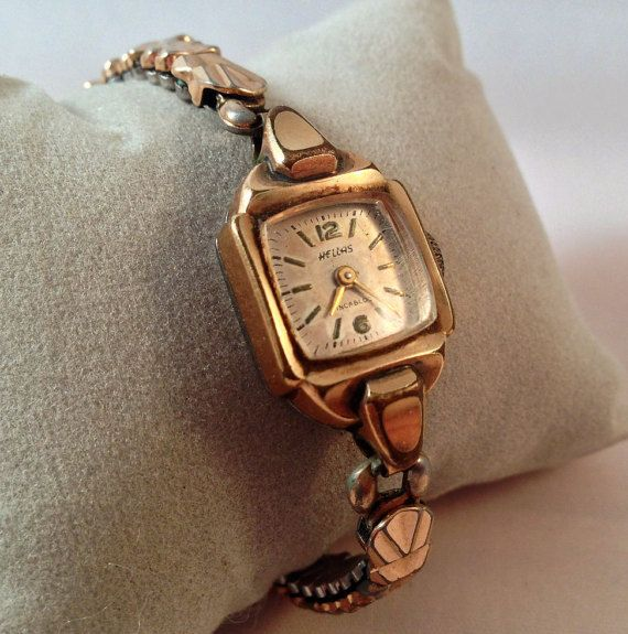 1940's Gold Plated Hellas  Women's / Ladies by StonebrookVintage
