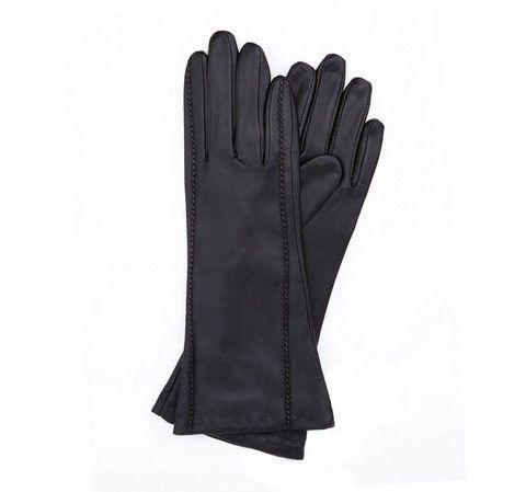 rękawiczki skórzane półdługie