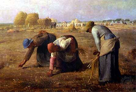 The Gleaners, Jean Francois Millet