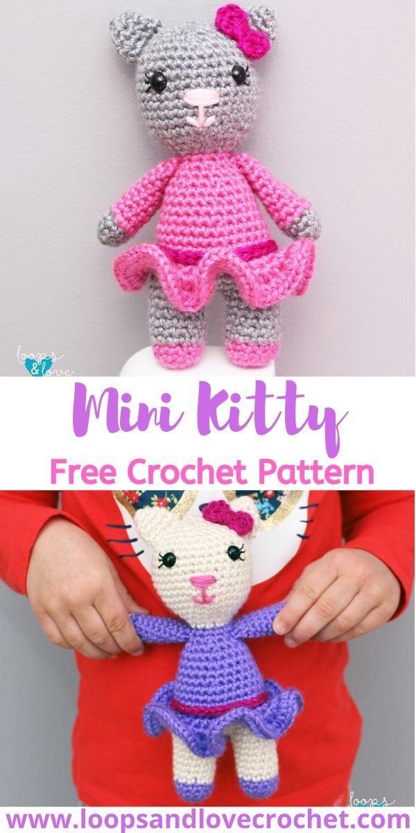 Ravelry: Ballerina Kitty pattern by Kali Dahle   1200x600
