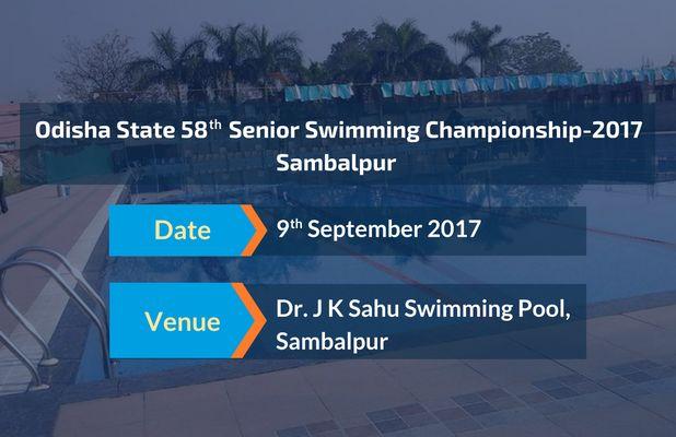 Upcoming Meet! Odisha State 58th Senior Swimming Championship-2017, Sambalpur Get the complete details @ #SwimIndia