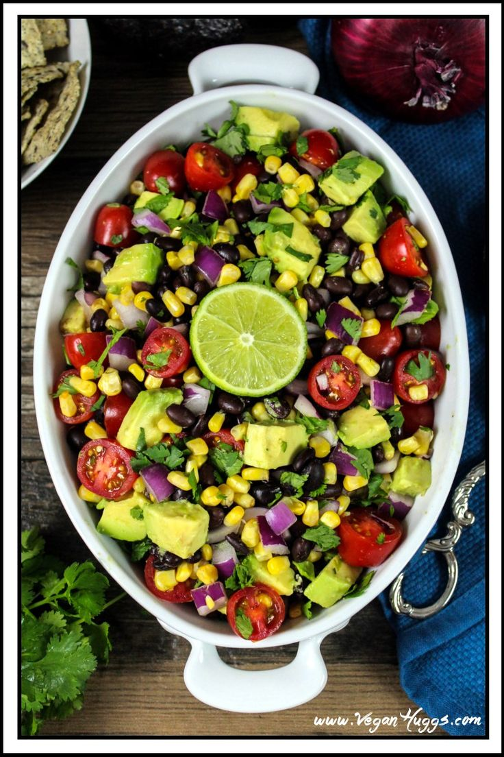 I absolutely love having salad as a main dish, but it has to be filling. Otherwise, I'll have hunger pangs thirty minutes later and that's not fun. This Avocado, Black…