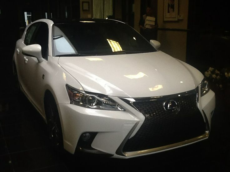 Just got a new ride check it out the new 2014 Lexus ct.  200h f sport