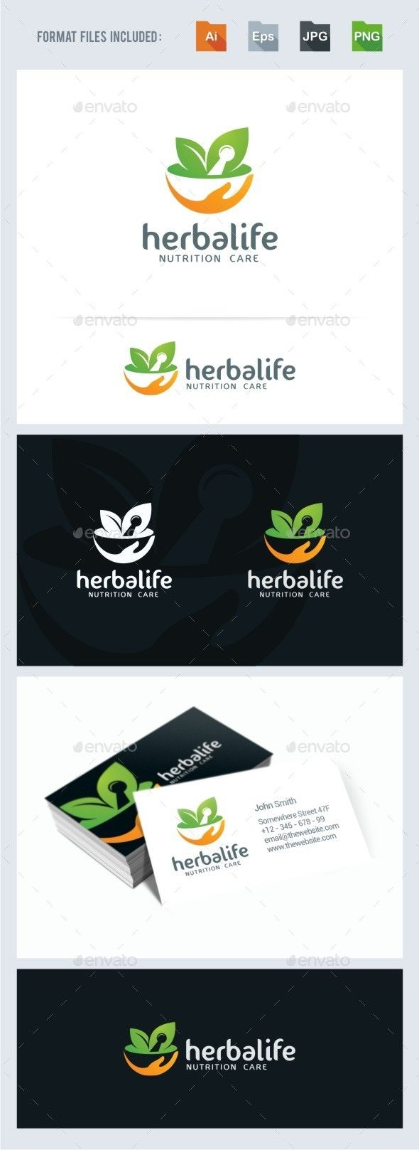 Herbal Nutrition - Logo Design Template Vector #logotype Download it here: http://graphicriver.net/item/herbal-nutrition-logo-template/11325337?s_rank=912?ref=nexion