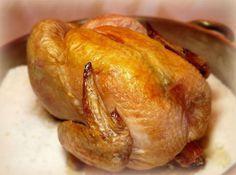 Как приготовить курицу на соли