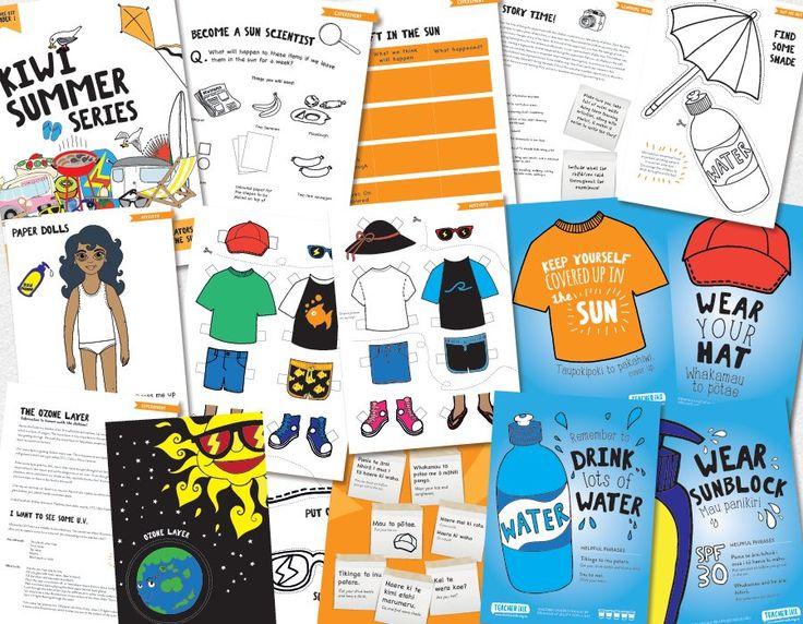 Kiwi Summer Series – Sun Safety http://www.teachertalk.org.nz/products/76/112/Kiwi-Summer-Series-Sun-Safety