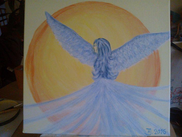 Anděl 2016,...Angel, Mystic... Acrylic