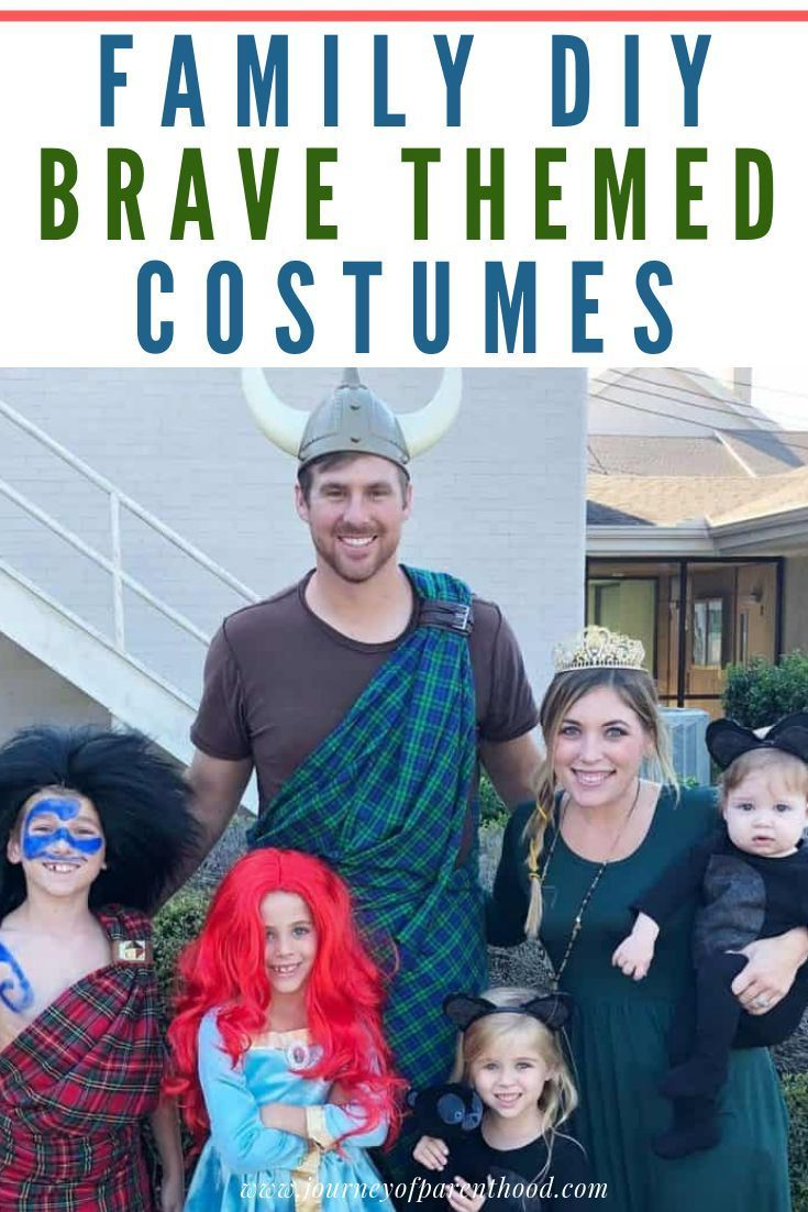 Brave Halloween Family Costumes (With images) Family