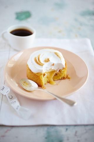 Recently made these. They are so good!Tartelette au pamplemousse et meringues poivrées by Rachel Khoo