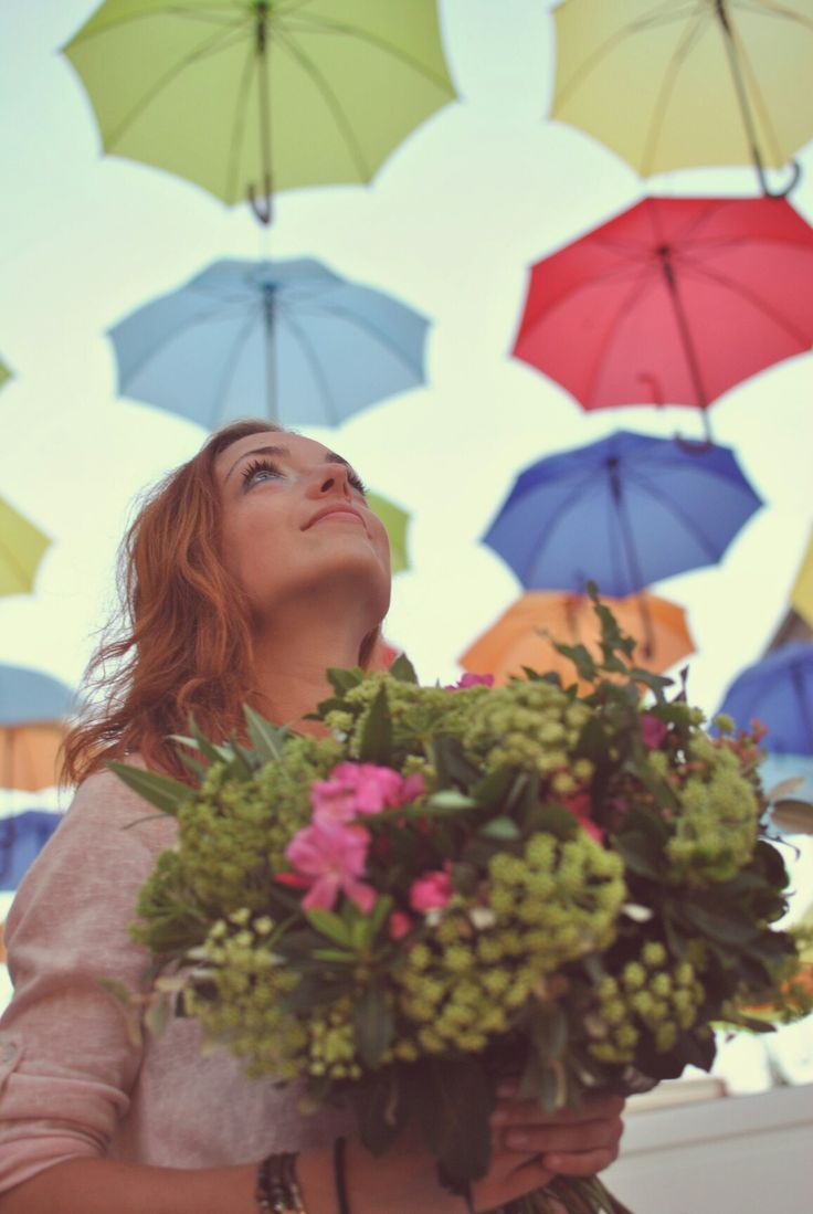 #Croatia #flowers #umbrella