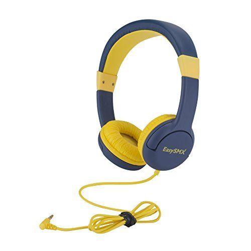 [Casque Enfant protégé] EasySMX Casque mignon pour enfant Casque audio pour enfants casque anti-bruit à limitation de volume casques stereo…
