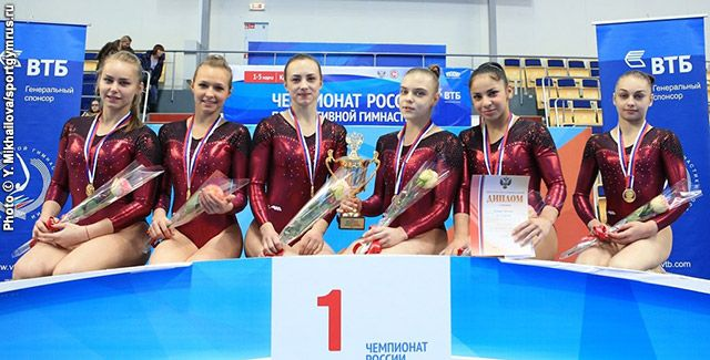 International Gymnast Magazine Online - Moscow Teams Win Russian Championships