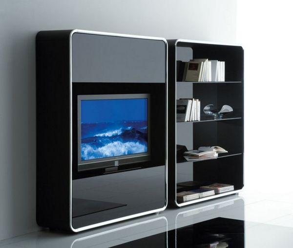 Wohnzimmer Tv Möbel Kombination Schränke Regale Aufbewahrung