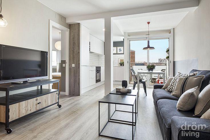 Una casa sencilla en blanco y gris   Decorar tu casa es facilisimo.com