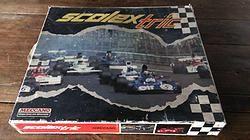 """Circuit Scalextric-Méccano """"30MT""""  Pour les amateurs et les grands enfants. www.grenier1900.com"""