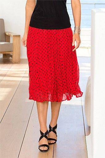Women's Clothing Online - Capture Polka Dot Skirt