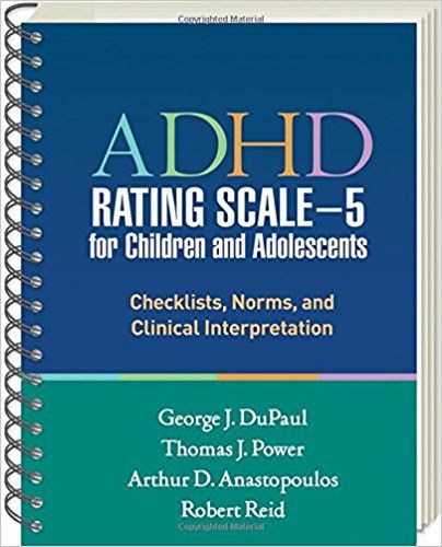 Adhd Parent Rating Scale