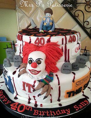Cake - Bolo - Stephen King - It a coisa