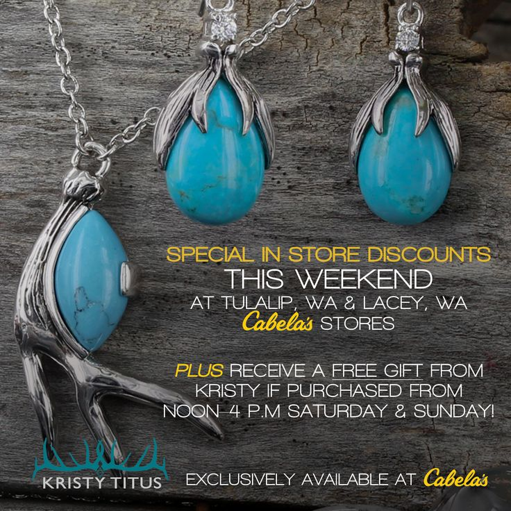 Join Kristy Titus at Cabela's Ladies Day Out This Weekend in Tulalip and Lacey, Washington Stores. Plus, Titus' Montana Silversmith Jewelry. Join Kristy Titus at Cabela's Ladies Day Out This Weekend http://www.womensoutdoornews.com/2016/05/kristy-titus-cabelas-ladies-day-weekend/ via @teamwon