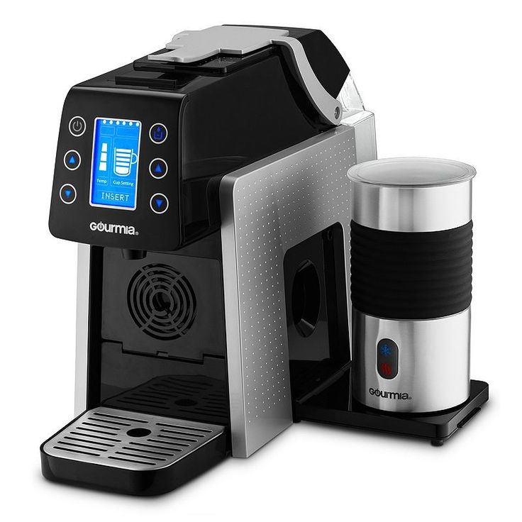 Gourmia One Touch KCup and Espresso Capsule Coffee