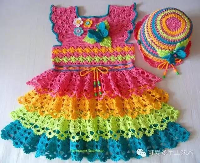 Mejores 220 imágenes de crochet-bebé ♥ en Pinterest | Motivo de ...
