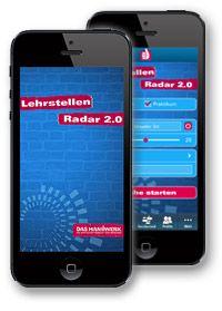 Lehrstellenradar - die mobile App für deinen Einstieg ins Handwerk