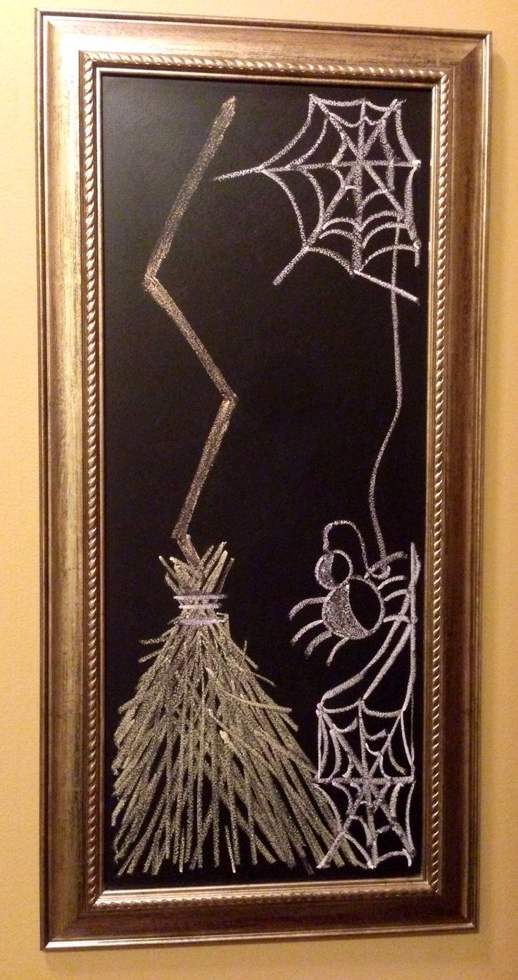 My Halloween Chalk Art!!
