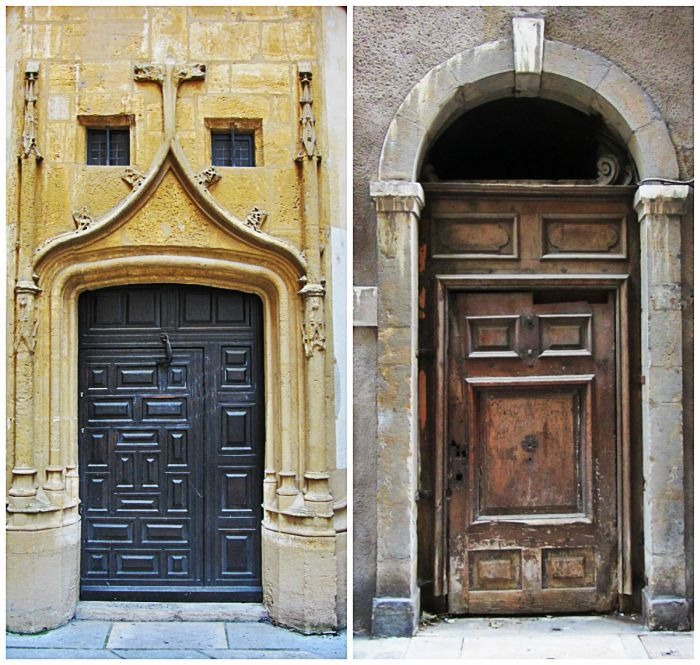 Amazing doors in Viex Lyon.  Lyon- get lost with me!  More on: www.kokopelia.pl  #onlylyon #lyon #france  #french #architecture #travelblog #blog #blogger #kokopelia #erasmusn #vieuxlyon