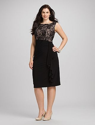Ayla lace hourglass dress