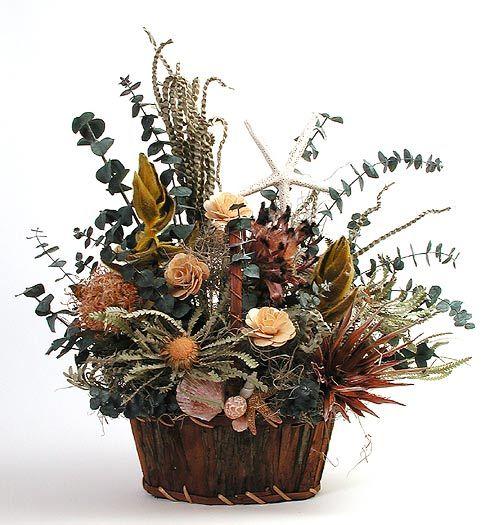 Composizioni con fiori secchi faidate - Fotogallery Donnaclick